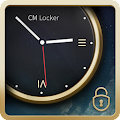 Luxury Clock CM Locker Theme APK for Bluestacks