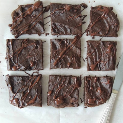 Grain Free Peanut Butter Brownie Bars {Gluten Free}