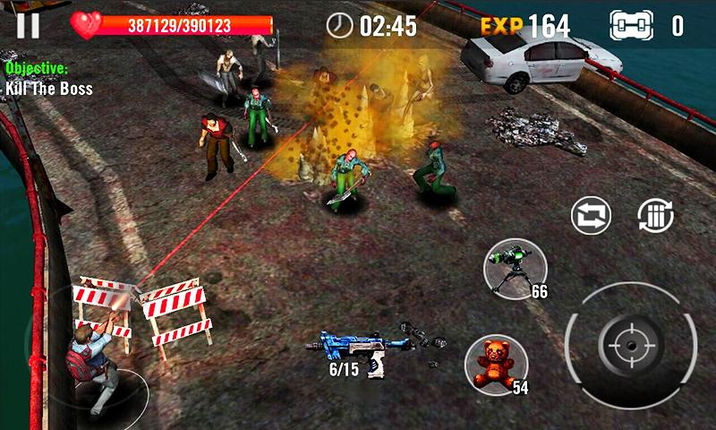 Zombie Overkill 3D Screenshot 2