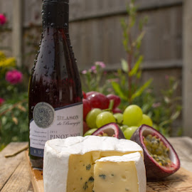 Cheese and Wine by Tracey Dolan - Food & Drink Meats & Cheeses