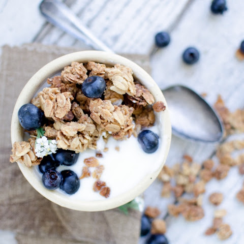 ~Oats & Honey Granola~