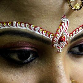 Lovely eyes...  by Dibakar Roy - Wedding Bride (  )