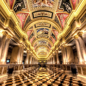 Golden Kingdom by Gema Goeyardi - Buildings & Architecture Architectural Detail ( macao, casino, hotel )