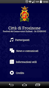 FestivalConservatori Frosinone - screenshot
