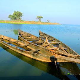 THE TRIO by SANGEETA MENA  - Transportation Boats (  )