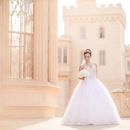 The wedding story www.lubosvrtik.sk by Ľuboš Vrtík - Wedding Bride ( svadobna fotografia, valtice, svadobne fotenie, lednice, svadba, svadobny fotograf, lubos vrtik )
