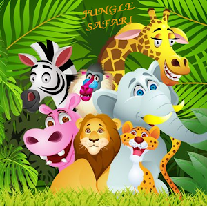 Jungle Safari find the animal word game for Android