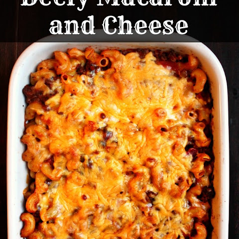 Beefy Macaroni and Cheese Casserole