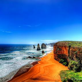 Twelve Apostles by Darren Tan - Landscapes Travel ( great ocean road, melbourne, australia, sea, 12 apostles, rocks )