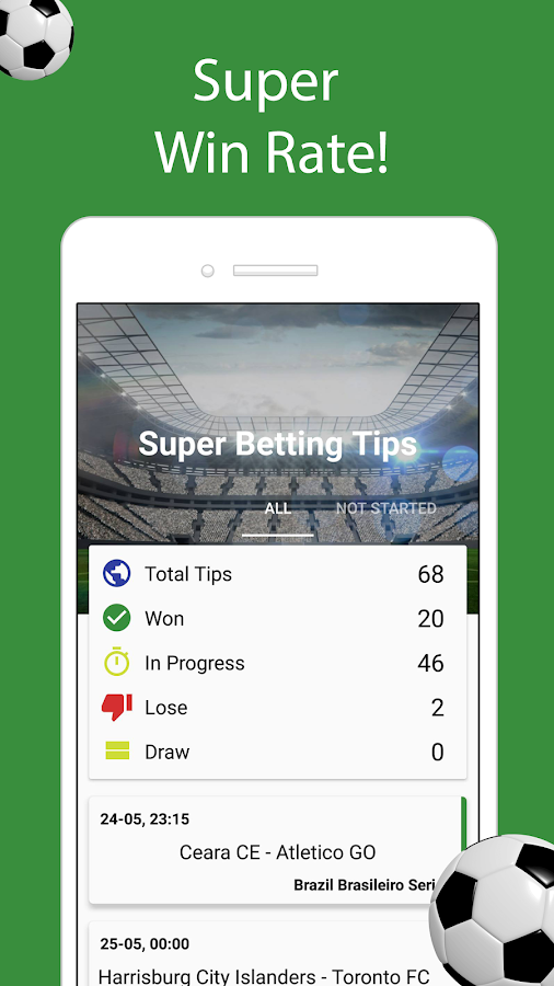 Super Betting Tips Screenshot 1