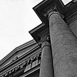 fragmentas by Vygintas Domanskis - Buildings & Architecture Architectural Detail ( vilnius, building, details, columns, lithuania, architecture )