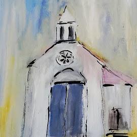 White sunday by Vanja Škrobica - Painting All Painting