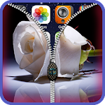Rose Roses zipper lock screen Icon