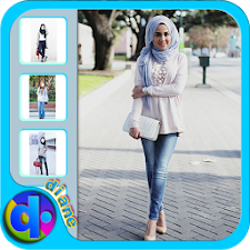 Hijab jeans Fashion