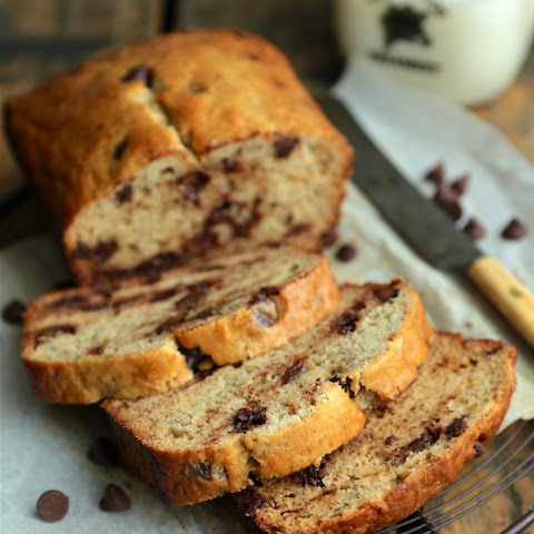 Sour Cream Chocolate Chip Banana Bread