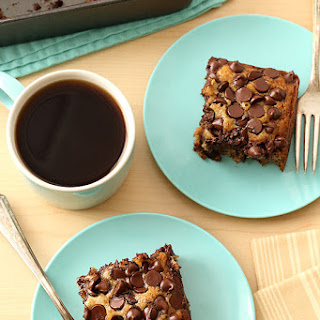 Banana Chocolate Chip Snack Cake (Egg Free, Dairy Free, Vegan)