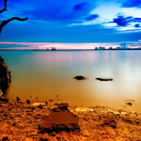 by Heru S. Tyon - Landscapes Waterscapes