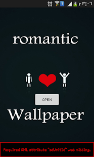 ٌRomanticWallpaper - screenshot