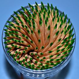 Pick a toothpick by Eduardo Benavidez - Artistic Objects Still Life (  )