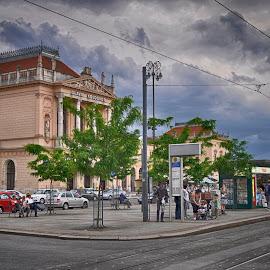 by Zeljko Kliska - City,  Street & Park  Street Scenes ( hdri, street, zagreb, travel, city )