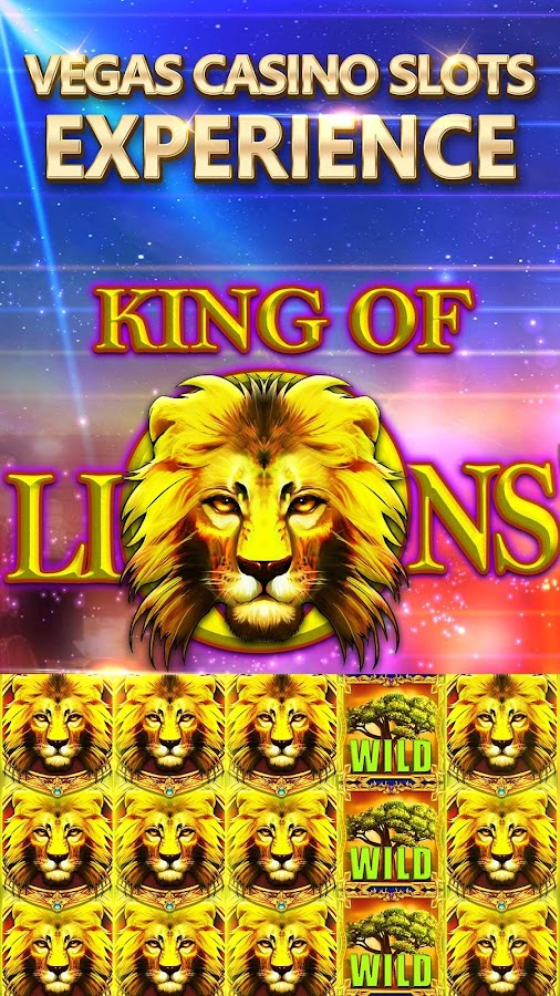 Slots - King of Lions Real Casino Spielautomaten android spiele download