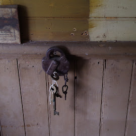 Click by Michael Hoover - Artistic Objects Antiques ( artifact, keys, lock, antique )