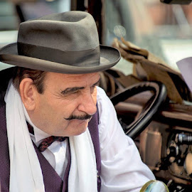 Poirot?  by Mark  Harris - People Portraits of Men