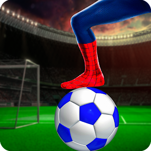 superhero REAL FOOTBALL Soccer League 2019 For PC (Windows & MAC)