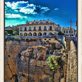 ronda, spain by Jim Knoch - City,  Street & Park  Historic Districts