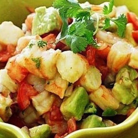 Mexican Shrimp-and-Avocado Salad