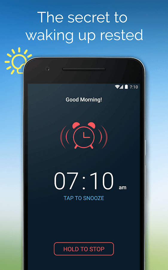 Good Morning Alarm Clock Pro Screenshot 0