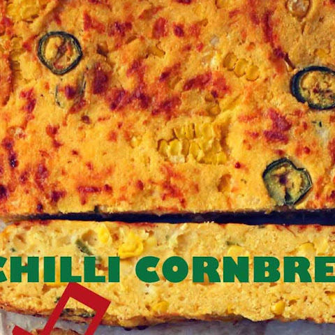 Chilli Cornbread with Chipotle Butter