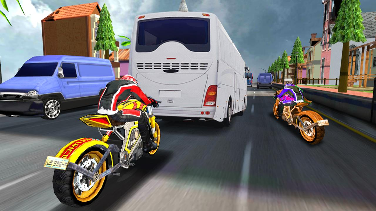 Turbo Racer - Bike Racing Screenshot 3