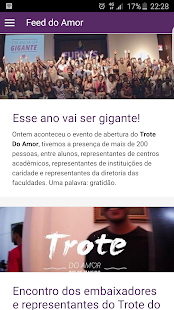 Trote do Amor - screenshot