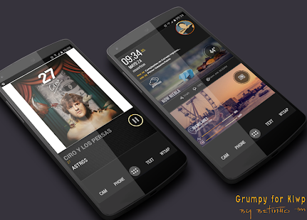 Grumpy for Klwp- screenshot thumbnail