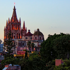 san miguel de allende, mexico by Jim Knoch - City,  Street & Park  Skylines