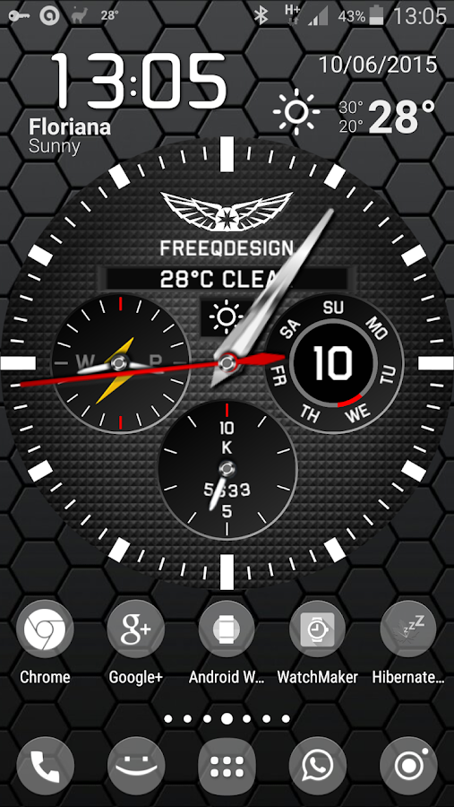 WatchMaker Live Wallpaper Screenshot 0