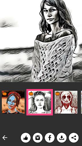 ArtistA Cartoon & Sketch Cam screenshot 5