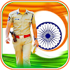 Independence Day Police Dress Suit Photo Editor
