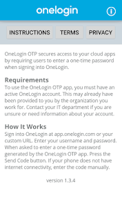 OneLogin OTP - screenshot
