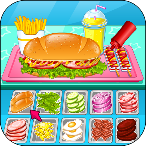 Go Fast Cooking Sandwiches (game)