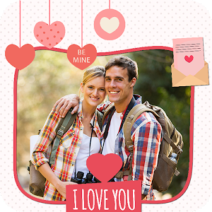 Valentine Day Photo Frame 2017
