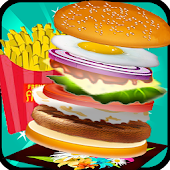 Burger Maker Chef Cooking Game APK for Bluestacks