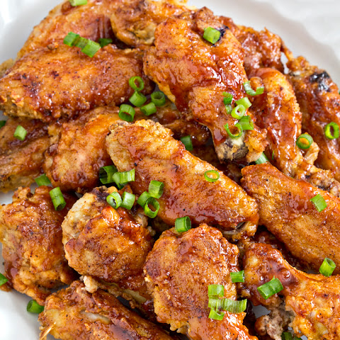 Honey Glazed Chicken Wings