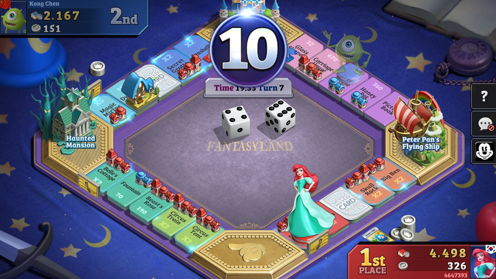 Disney Magical Dice: Das verzauberte Brettspiel android spiele download