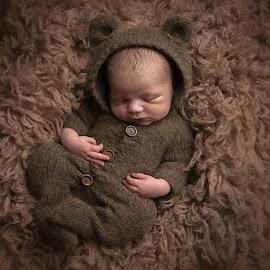 Charlie Bear by Victoria Doyle - Babies & Children Babies ( bear, wollen, baby, flokati, newborn )