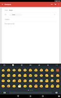 Screenshot of Swype Keyboard