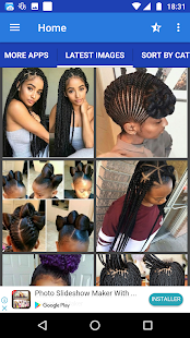 African Woman Hairstyle for pc