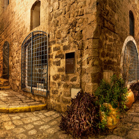Old Yaffo Tel Aviv by Jojo Valerio  - Buildings & Architecture Public & Historical ( buildings, historical, architecture, public )