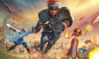Screenshot of Clash Of The Kingdoms